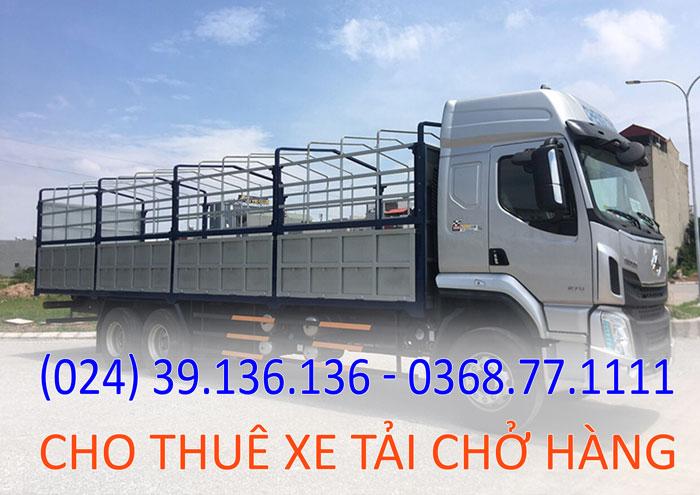 cho thuê xe tải chở hàng Hà Nội