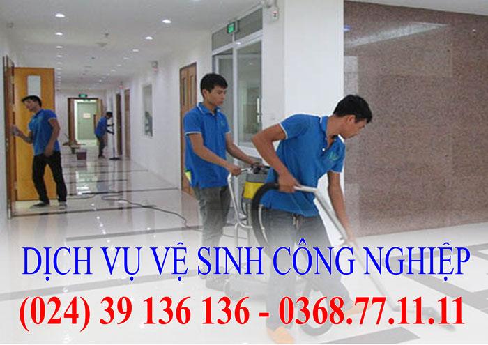 Dịch vụ vệ sinh công nghiệp nhà ở văn phòng